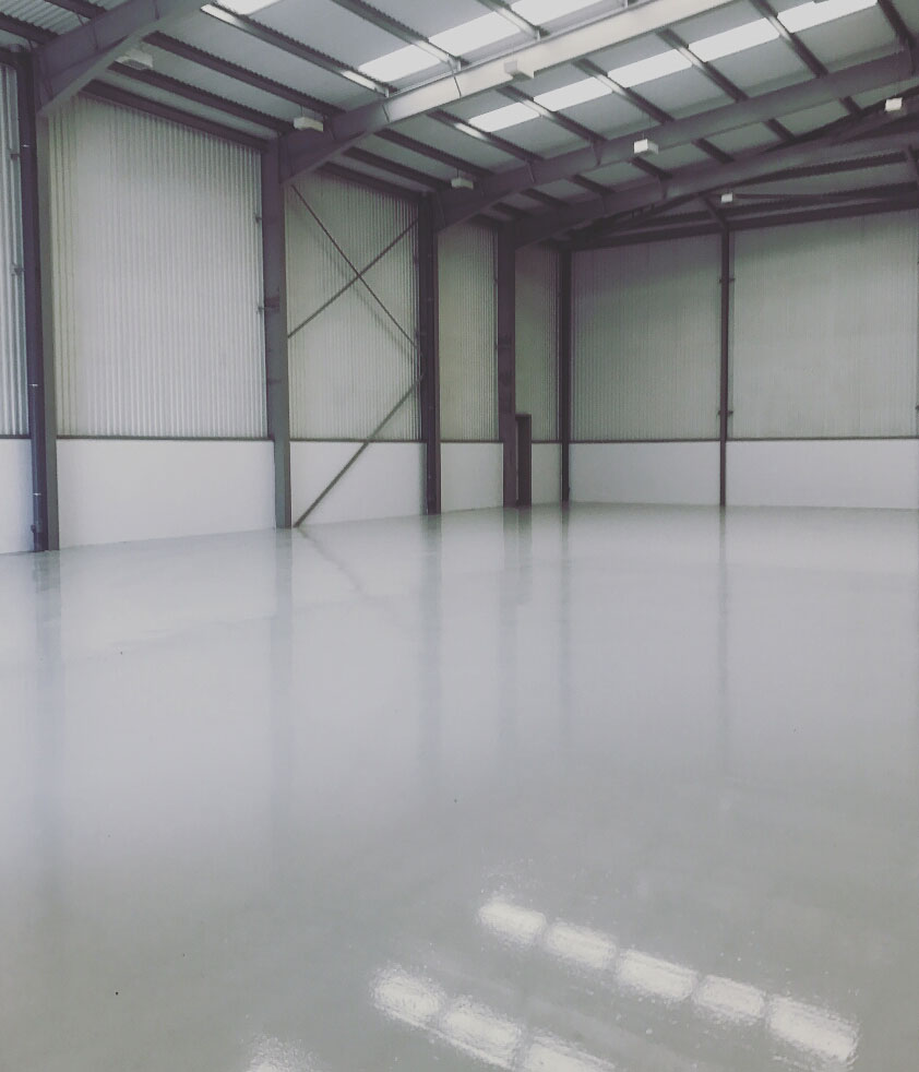 Warehouse refurbishments at Milton Keynes (After)