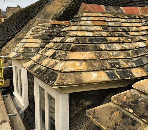 Listed Building Repairs - Stanford, Lincolnshire (After)